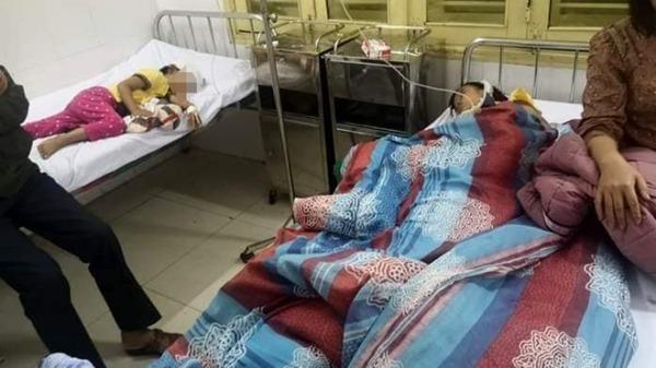 Hai cháu nhỏ phải nhập viện do bị ông nội đánh.