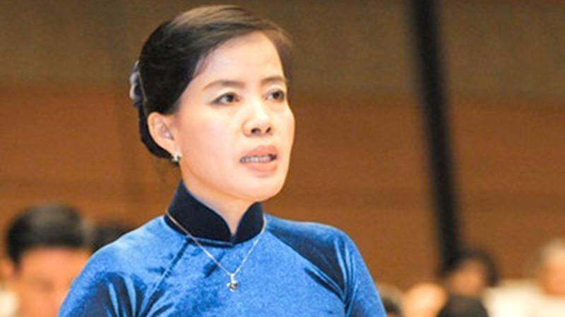 Đại biểu quốc hội Nguyễn Thị Kim Thúy.