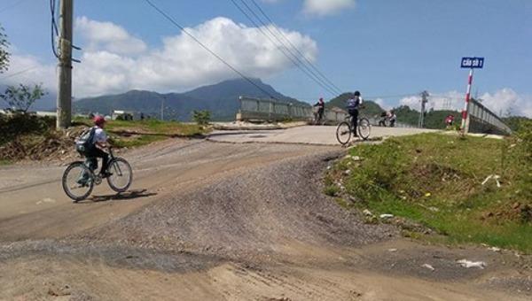Khu vực thuộc dự án Khu tái định cư Hòa Liên 4 (huyện Hòa Vang, TP.Đà Nẵng). Ảnh: Hoàng Quân.