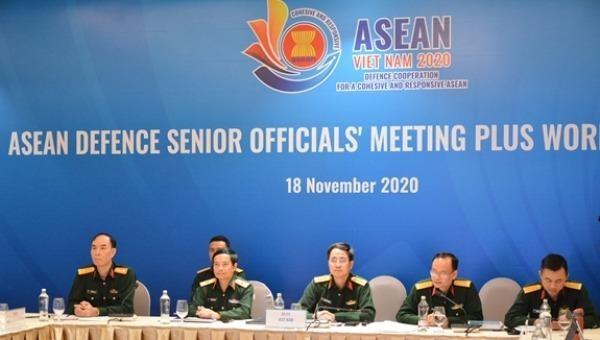 Các đại biểu Việt Nam tham dự hội nghị.