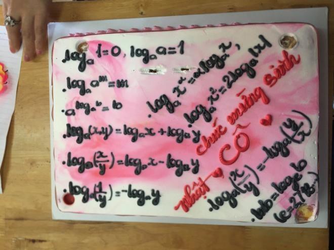 Cười ngất với loạt bánh kem mừng ngày 20/11 'muôn hình vạn trạng' của học trò - 5