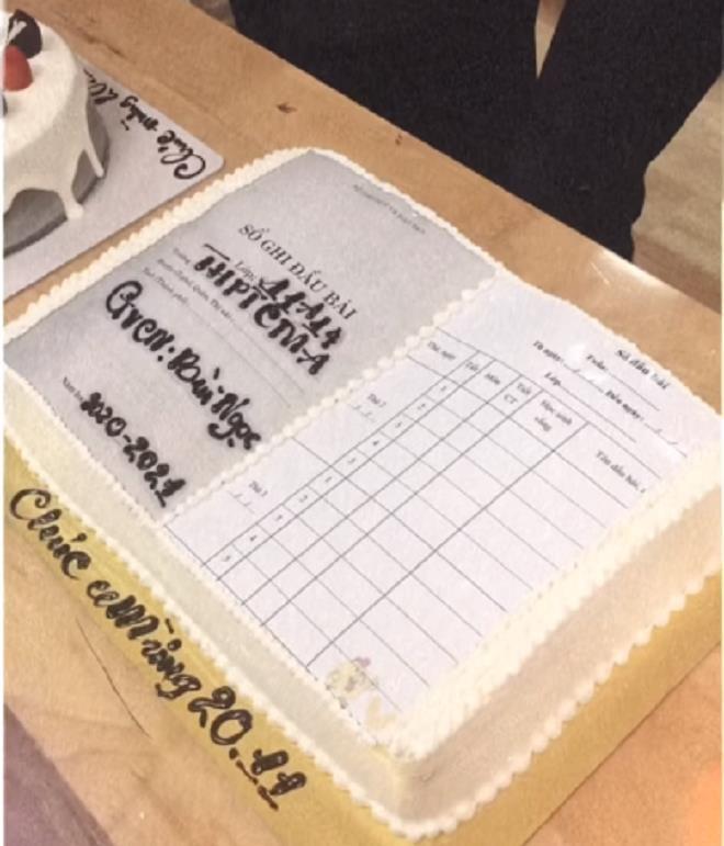Cười ngất với loạt bánh kem mừng ngày 20/11 'muôn hình vạn trạng' của học trò - 7