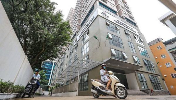 Trường Đại học Đông Đô cơ sở tại 60B Nguyễn Huy Tưởng. Ảnh Tuổi Trẻ.
