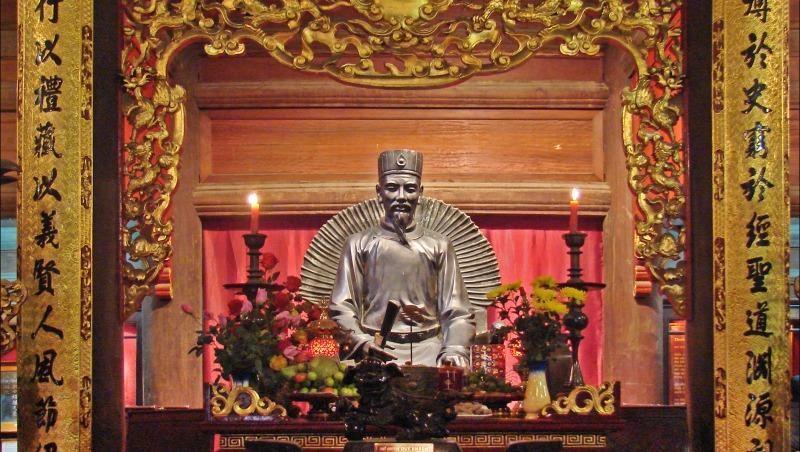 Chuyện thầy Chu Văn An và cậu học trò thủy thần
