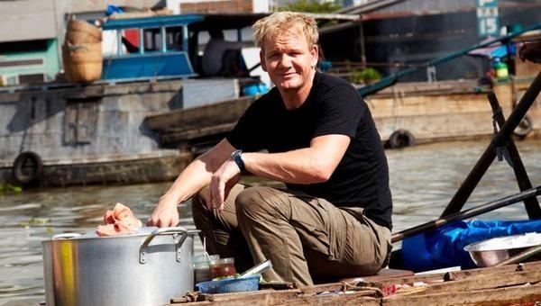 Đầu bếp Gordon Ramsay lừng danh từng chu du miền Tây để học nấu món Việt.
