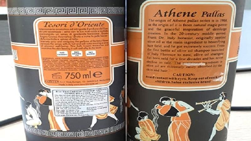 Một sản phẩm làm giả hàng hóa do Eurostar phân phối độc quyền.