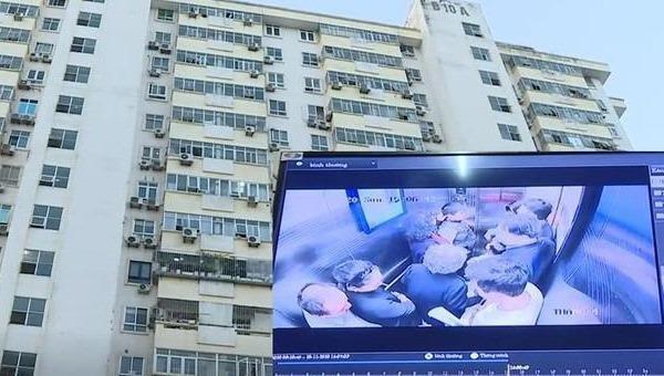 Rơi thang máy chung cư ở Hà Nội, hàng chục người bị thương