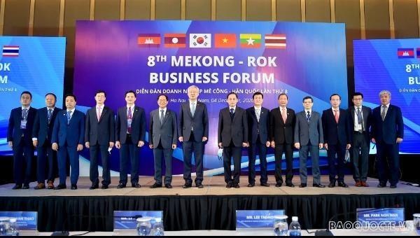 Diễn đàn Doanh nghiệp Mê Công – Hàn Quốc lần thứ 8:  Thúc đẩy quan hệ hợp tác nhiều mặt giữa các nước