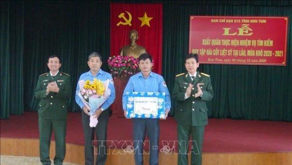 Xuất quân tìm kiếm, quy tập hài cốt liệt sỹ tại Lào