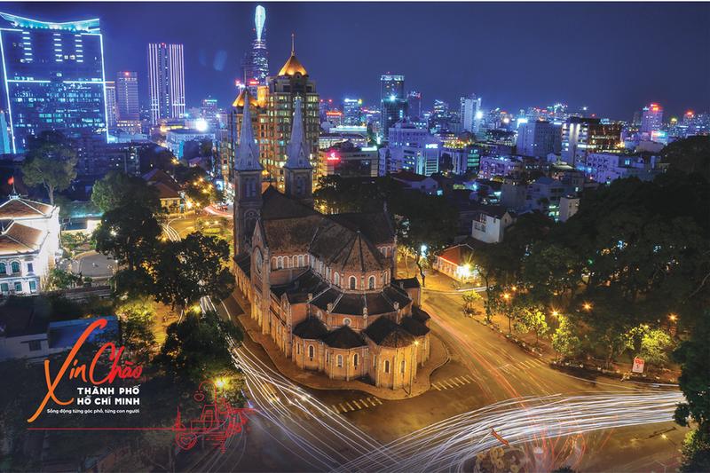 """Chiến dịch """"TP HCM Xin chào - Hello Ho Chi Minh City"""" vừa được công bố."""