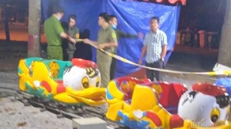 Bé trai tử vong trong khu vui chơi
