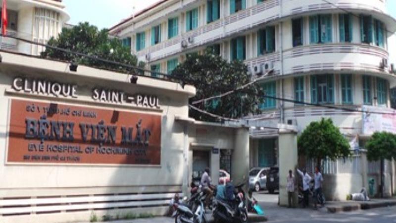 Bệnh viện Mắt TP HCM.