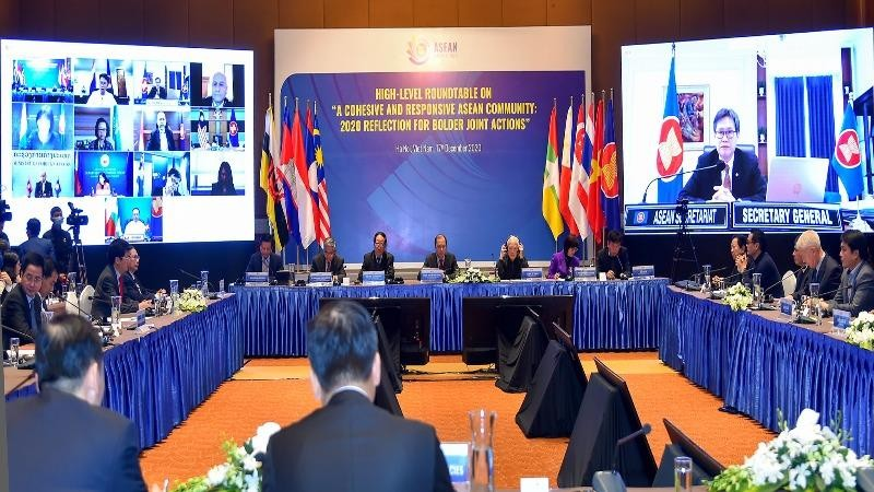 """Việt Nam chủ động và phát huy vai trò """"nòng cốt"""" trong ASEAN"""