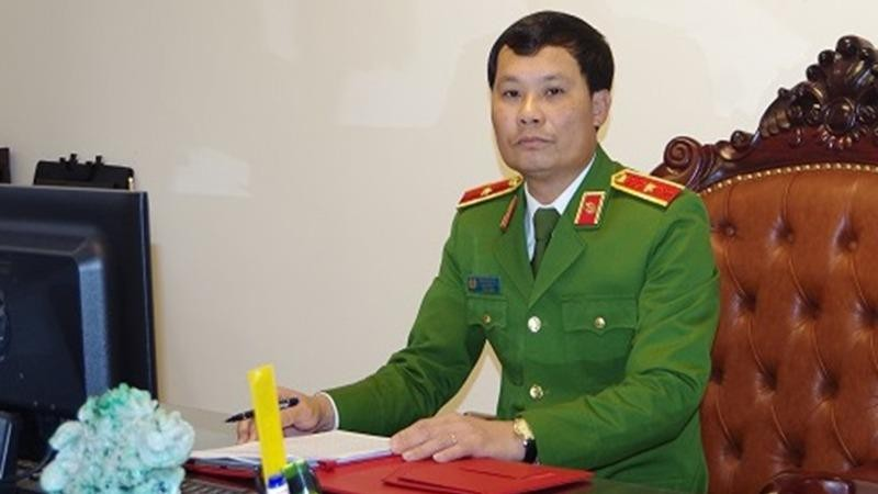 Thiếu tướng Trần Ngọc Hà, Cục trưởng Cục Cảnh sát hình sự (Bộ Công an).