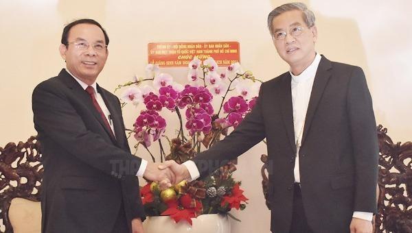 Giáo phận TP HCM đóng góp vào thành công chung của địa phương
