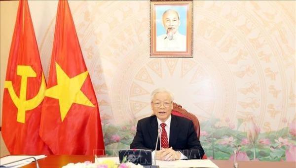 Tổng Bí thư, Chủ tịch nước gửi điện mừng  Ngày thành lập Đảng Cộng sản Pháp