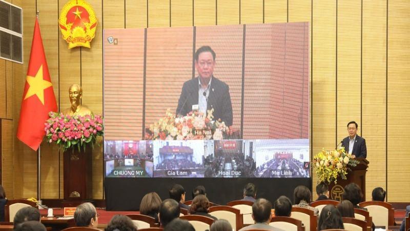 Hà Nội: Cán bộ chủ chốt là chủ thể chính đưa Nghị quyết vào cuộc sống