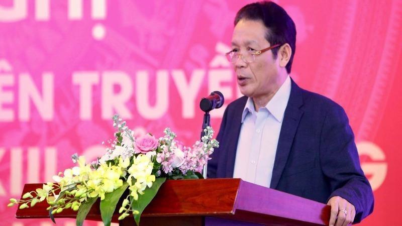 Thứ trưởng Bộ TT&TT Hoàng Vĩnh Bảo khai mạc tập huấn.
