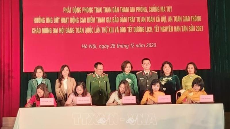 Hà Nội: Toàn dân tham gia phòng chống ma túy, bảo đảm trật tự an toàn xã hội