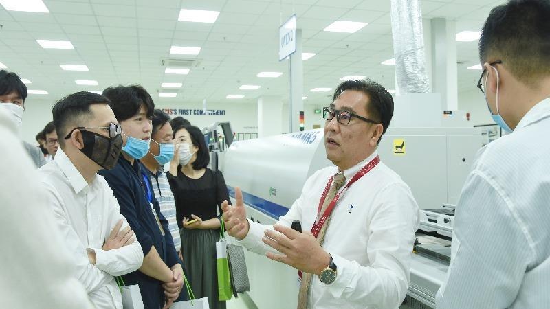 Doanh nghiệp nước ngoài tìm hiểu đầu tư vào khu công nghệ cao Đà Nẵng.