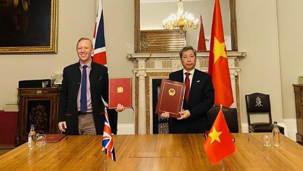 Chính thức ký kết Hiệp định tự do thương mại Việt Nam -  Anh