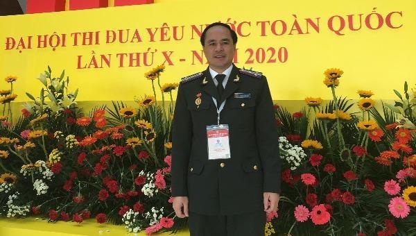 Cục trưởng Cục THADS  tỉnh Nghệ An Phạm Quốc Nam.