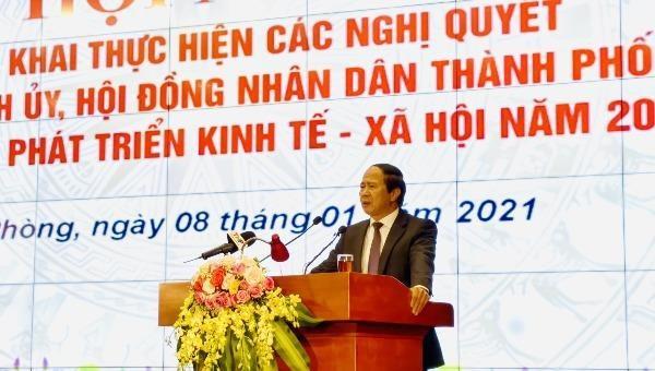 Hải Phòng xác định 12 nhiệm vụ giải pháp chủ yếu năm 2021
