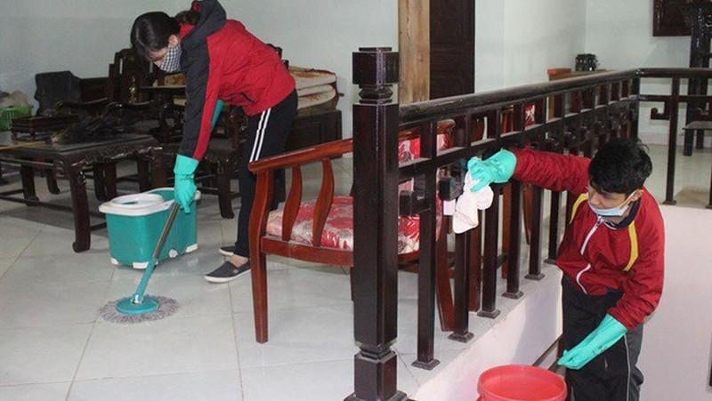 Những ô sin, thợ nề giúp gia chủ tân trang nhà cửa đón tết
