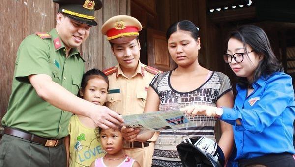 Tuyên truyền phòng, chống mua bán người tại Nghệ An.