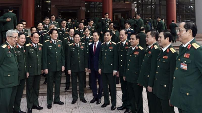 125 đại biểu Quân đội dự Đại hội XIII của Đảng