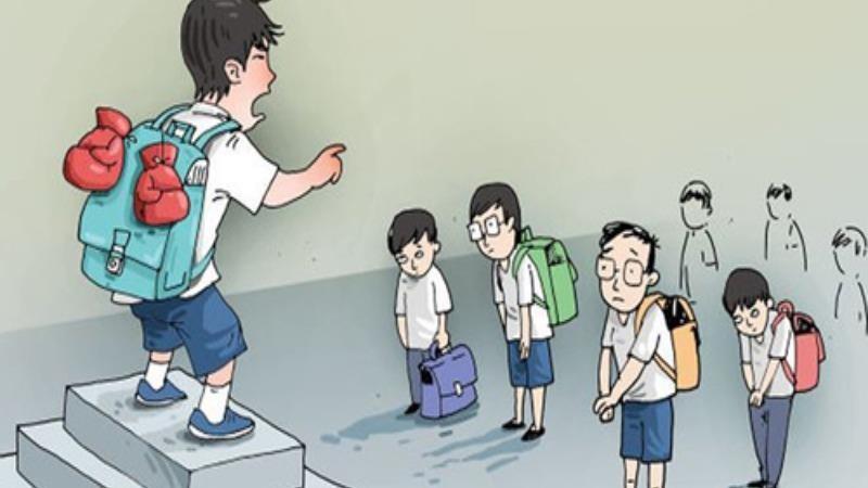Bạo lực học đường – không ngẫu nhiên đến và tự nhiên biến mất