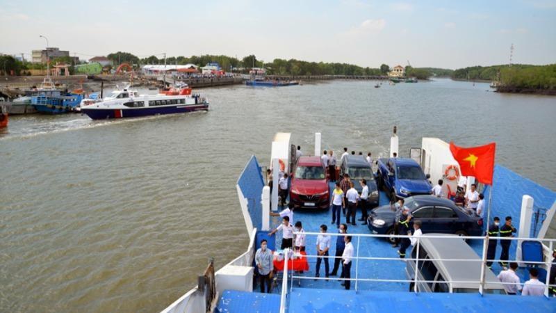 Tuyến phà biển Cần Giờ - Vũng Tàu đưa vào hoạt động.