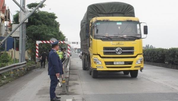 Đề xuất nhân rộng hệ thống cân tự động phạt nguội xe quá tải