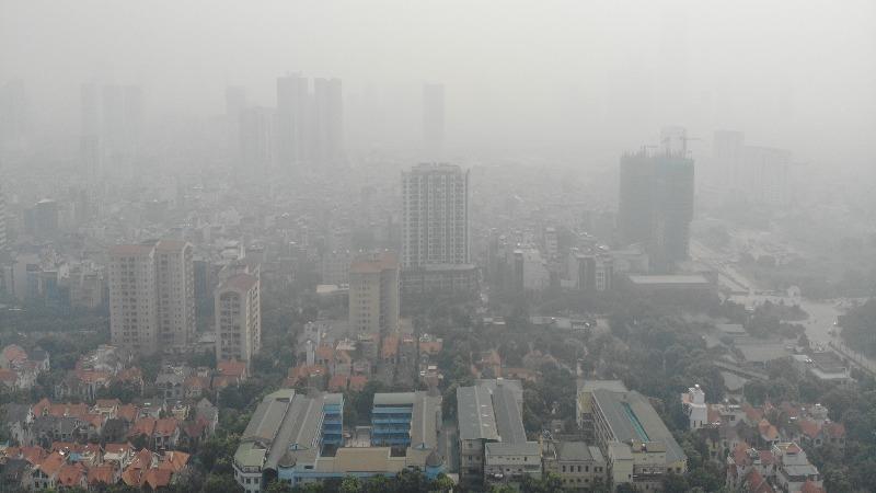 """Bao giờ có thể """"bắt bệnh"""" cho ô nhiễm không khí ở Hà Nội? (Ảnh minh họa)"""