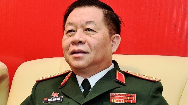 Thượng tướng Nguyễn Trọng Nghĩa.