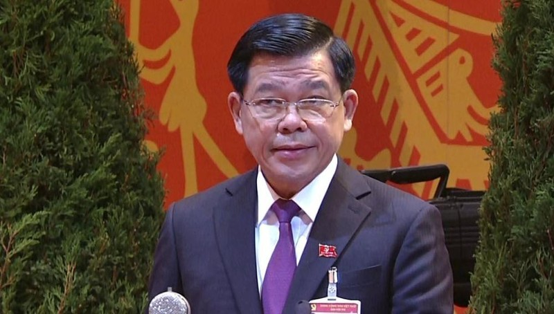 Ông Nguyễn Hồng Lĩnh trình bày tham luận tại Đại hội.