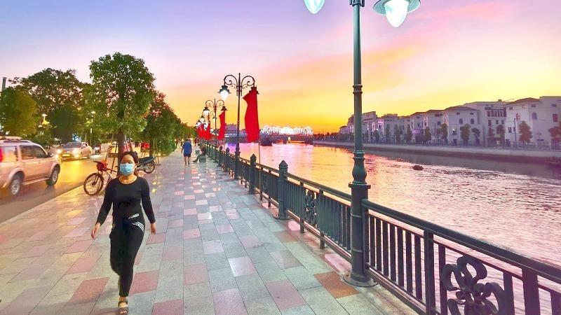 Sông Tam Bạc, điểm nhấn đô thị Hải Phòng.