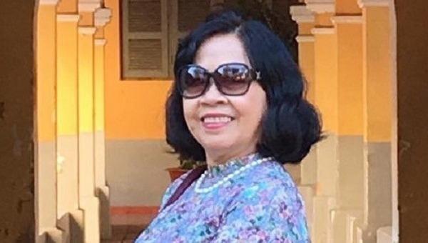 Bà Nguyễn Thị Kim Hoa.