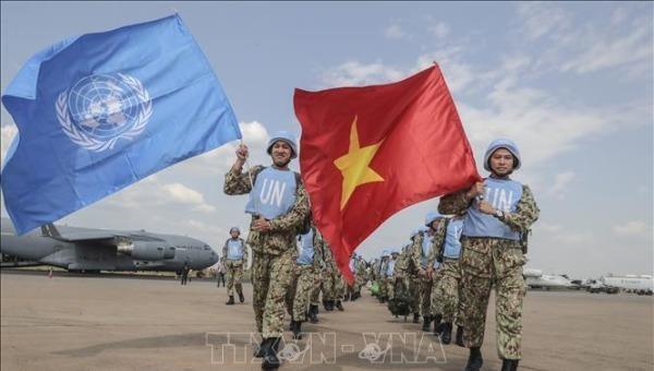 Nâng cao nhận thức tham gia gìn giữ hòa bình của Liên Hợp quốc