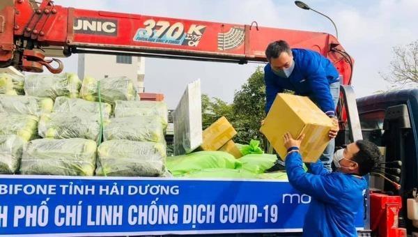 MobiFone ủng hộ 800 triệu đồng cho Hải Dương, Quảng Ninh chống dịch