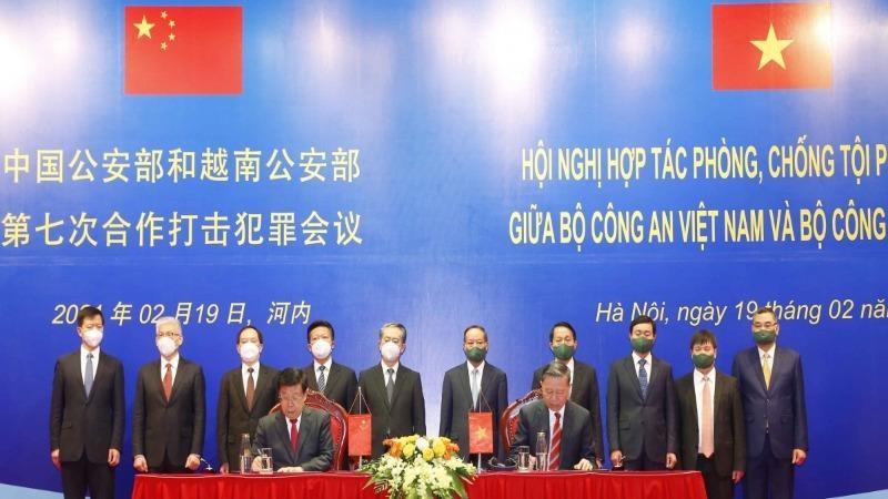 Việt Nam - Trung Quốc: Tiếp tục phối hợp hiệu quả trong phòng, chống tội phạm
