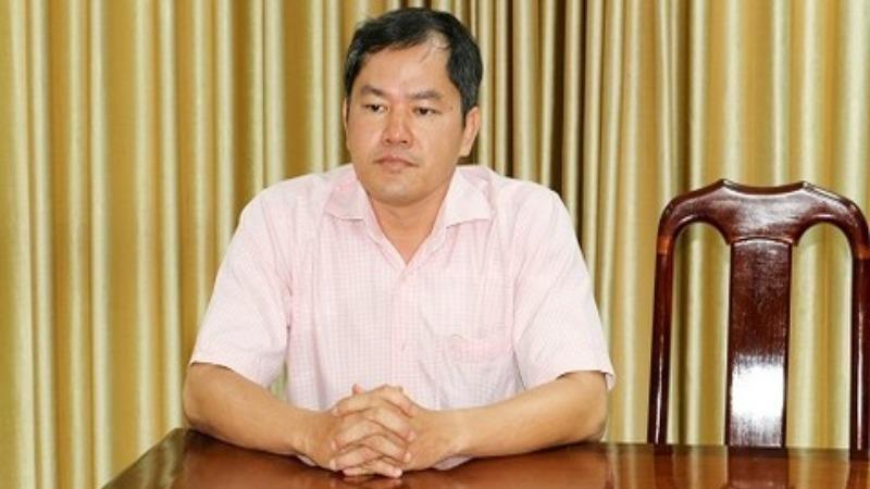 Bị can Nguyễn Xuân Huy tại cơ quan điều tra.