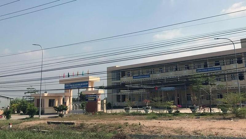 Trường THPT Đốc Binh Kiều. Ảnh Vietnamnet.