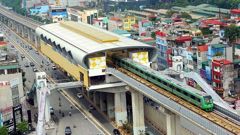 Dự án đường sắt đô thị Cát Linh - Hà Đông đang được tiến hành các bước bàn giao theo kế hoạch.