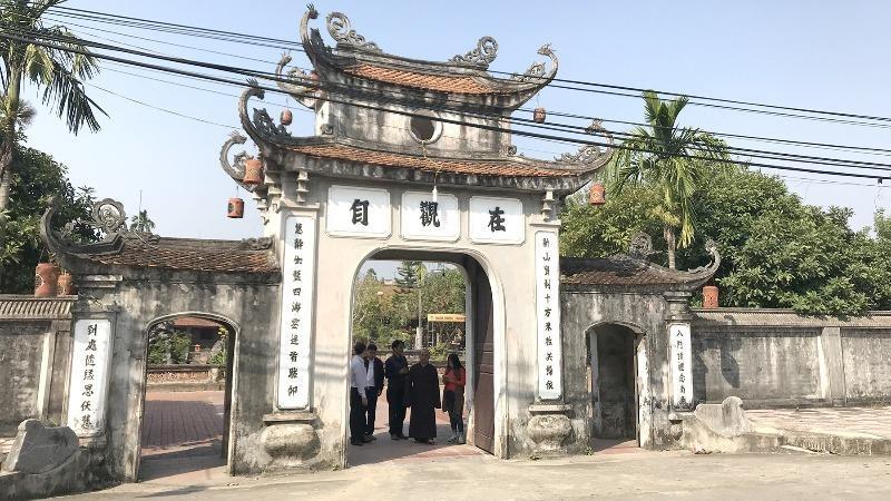 Ngôi chùa 4 thế kỷ thờ đại danh y của dân tộc