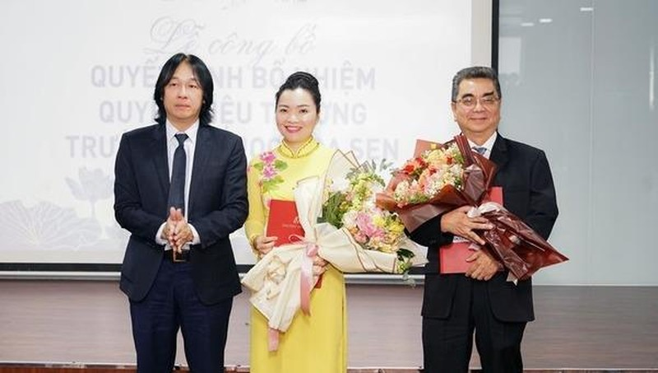PGS TS Võ Thị Ngọc Thúy được bổ nhiệm vị trí Quyền Hiệu trưởng ĐH Hoa Sen.