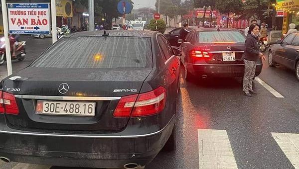 Xác định chủ nhân dùng biển số thật của xe Mercedes trùng biển
