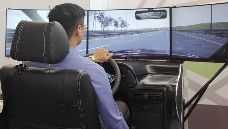 Lùi thời hạn sử dụng phần mềm mô phỏng dạy lái ô tô