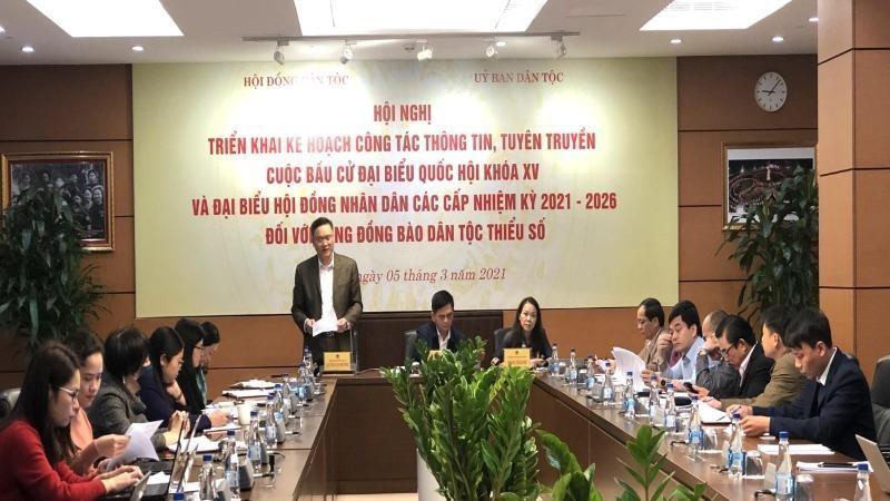 Hội nghị hiệp thương lần thứ Nhất thỏa thuận cơ cấu, thành phần, số lượng người ứng cử Đại biểu Quốc hội, đại biểu HĐND Thành phố Hà Nội.