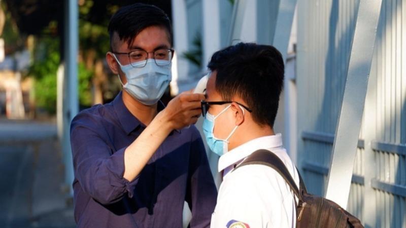 Công tác giám sát dịch bệnh tại trường học trên địa bàn TP HCM.